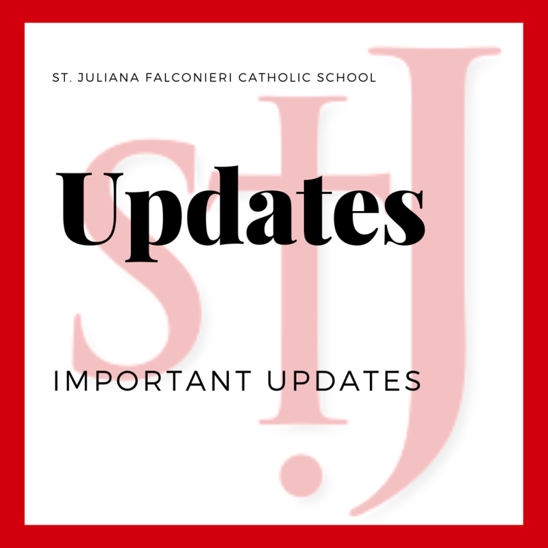Important Updates from St. Juliana School Featured Photo