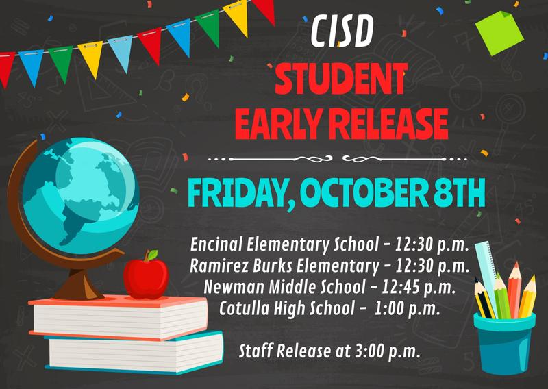 student early release poster