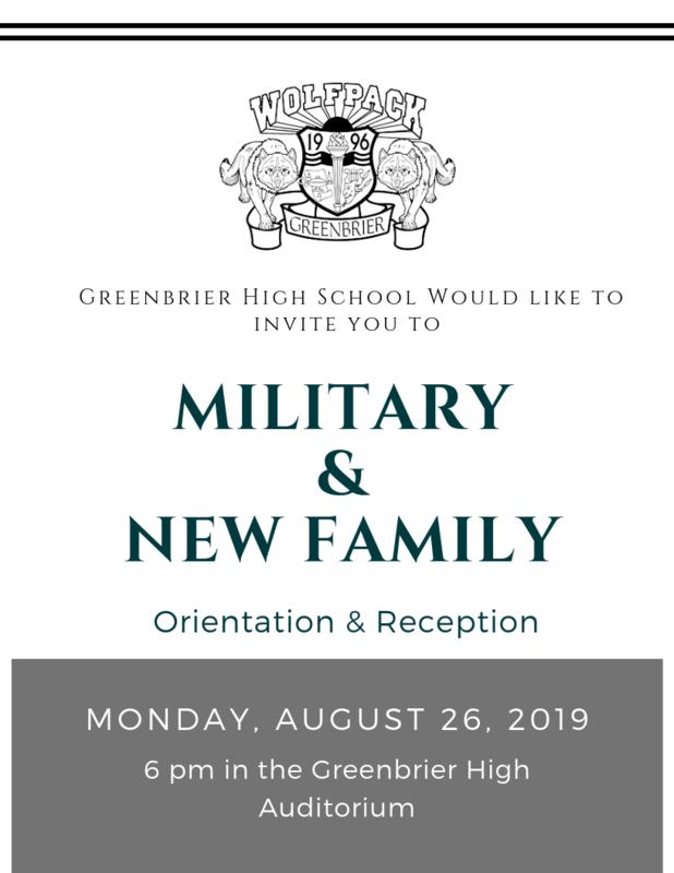Military & New Family Night