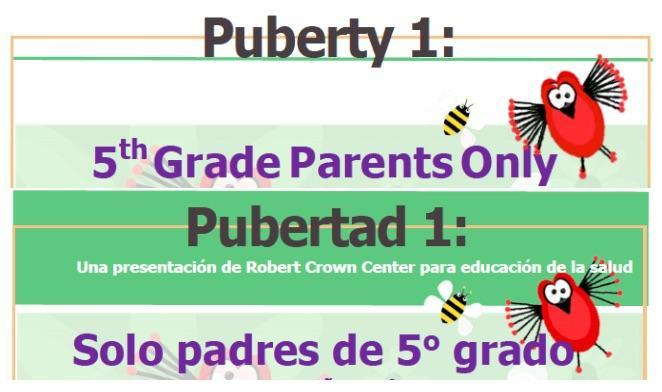 Informational Parent Night (Noche informativa para padres) Thumbnail Image