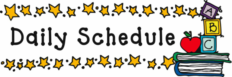 School Schedule Featured Photo