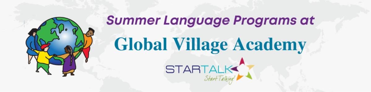 summer language program logo