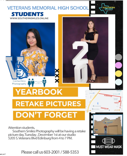 Yearbook Picture Retakes Featured Photo