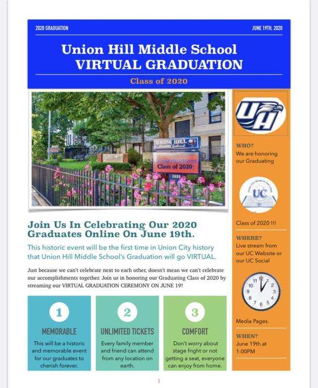 UHMS Graduation Flyer