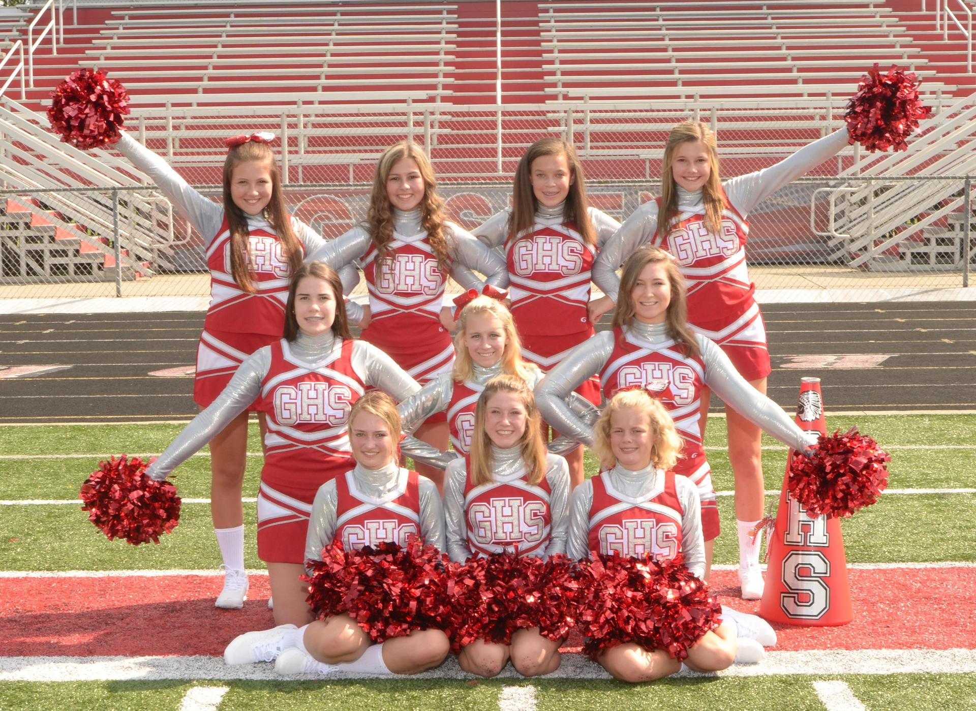 Warrior JV Cheerleaders