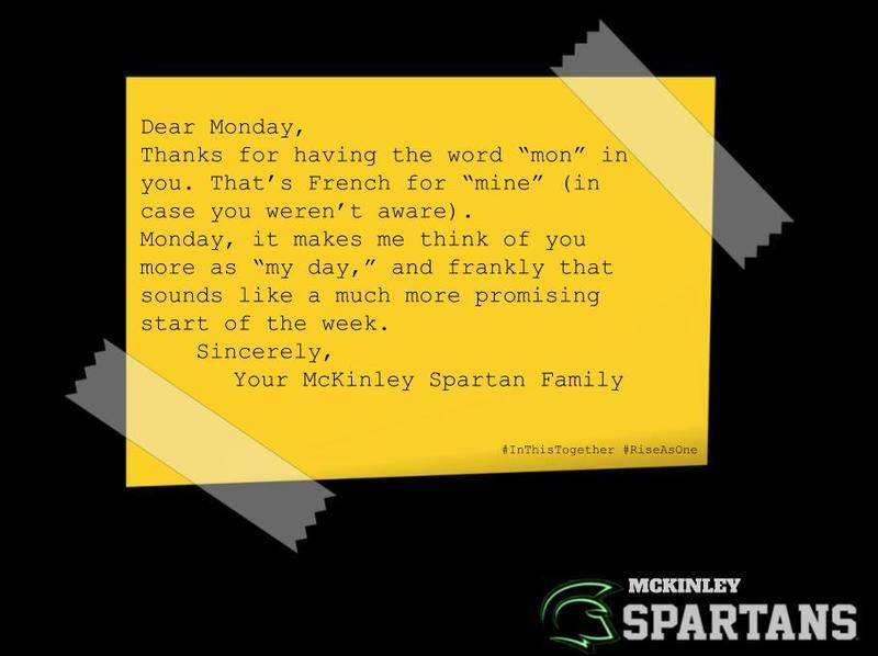 dear monday quote
