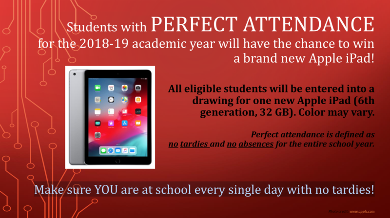 Perfect Attendance iPad Giveaway Featured Photo