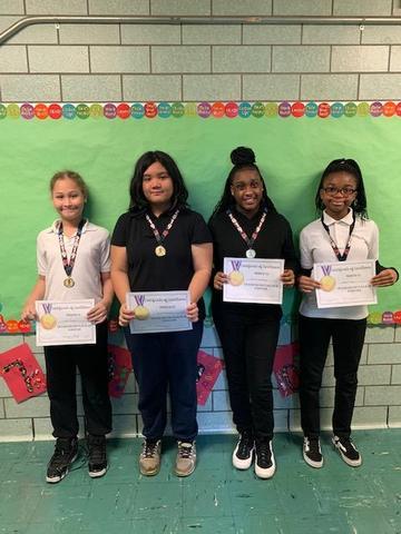 1st Prize Winners - Grades 5-8