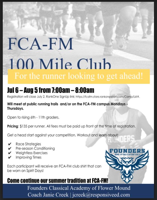 cc 100 mi club