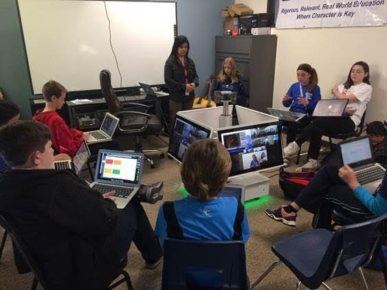 Classroom of the future - synchronized learning