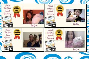 Collage pet show awards