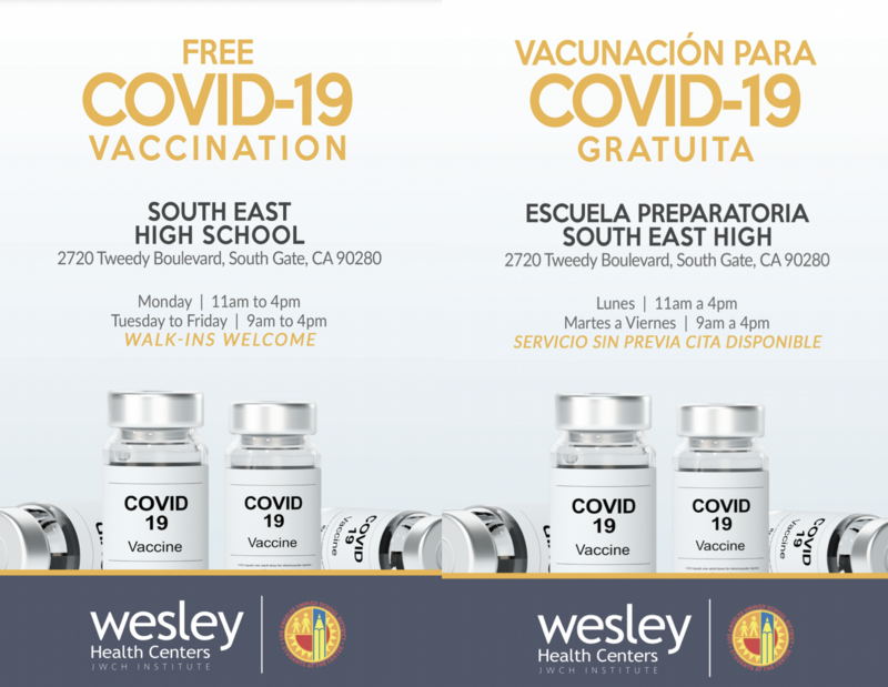 Covid-19 Vaccine Flyer