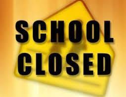 School Closed clipart