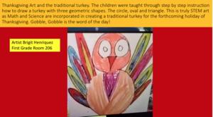 Brigit's turkey and description