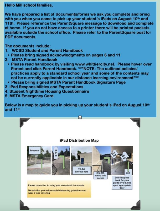 iPad Distribution