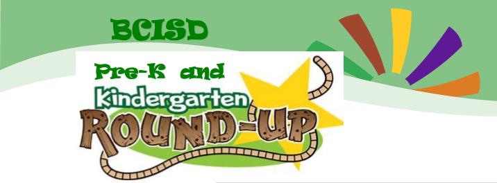 Pre-K & Kinder Round-Up:     April 12-23 Thumbnail Image
