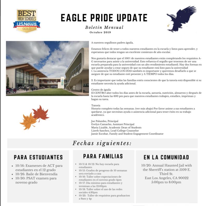 Eagle Pride: Octubre Thumbnail Image