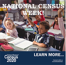 National Census Week Banner