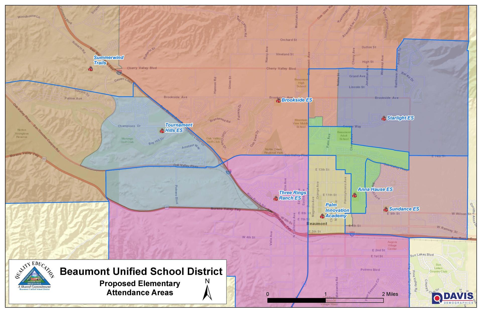 Proposed Elementary Boundary