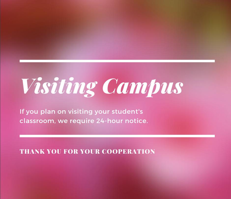 Visiting Campus Policy