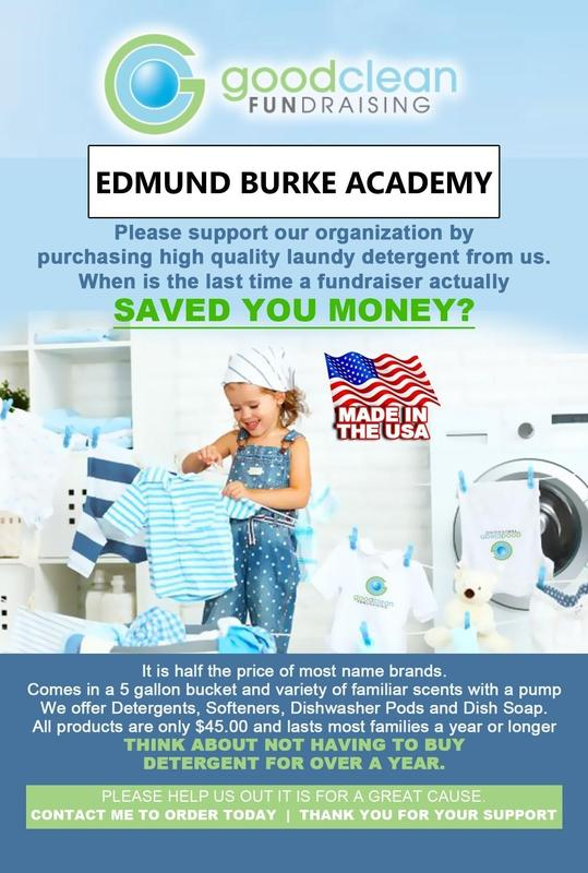 Support the school with laundry detergent!