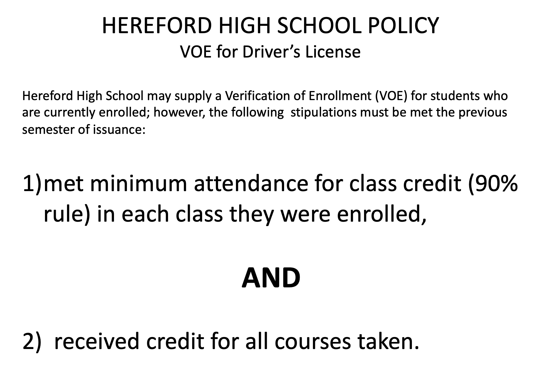 HHS Verification of Enrollment