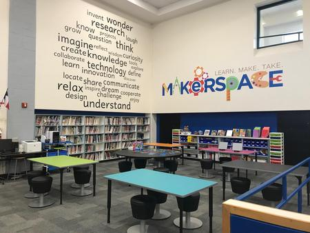 makerspace library area
