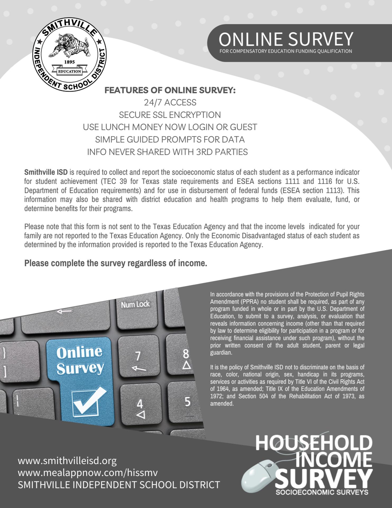 Household Income Survey English