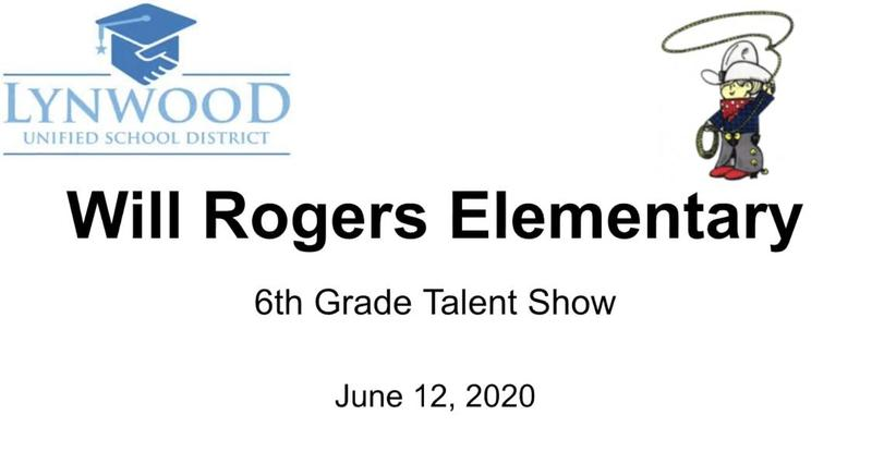 Will Rogers Talent Show 2020 Featured Photo