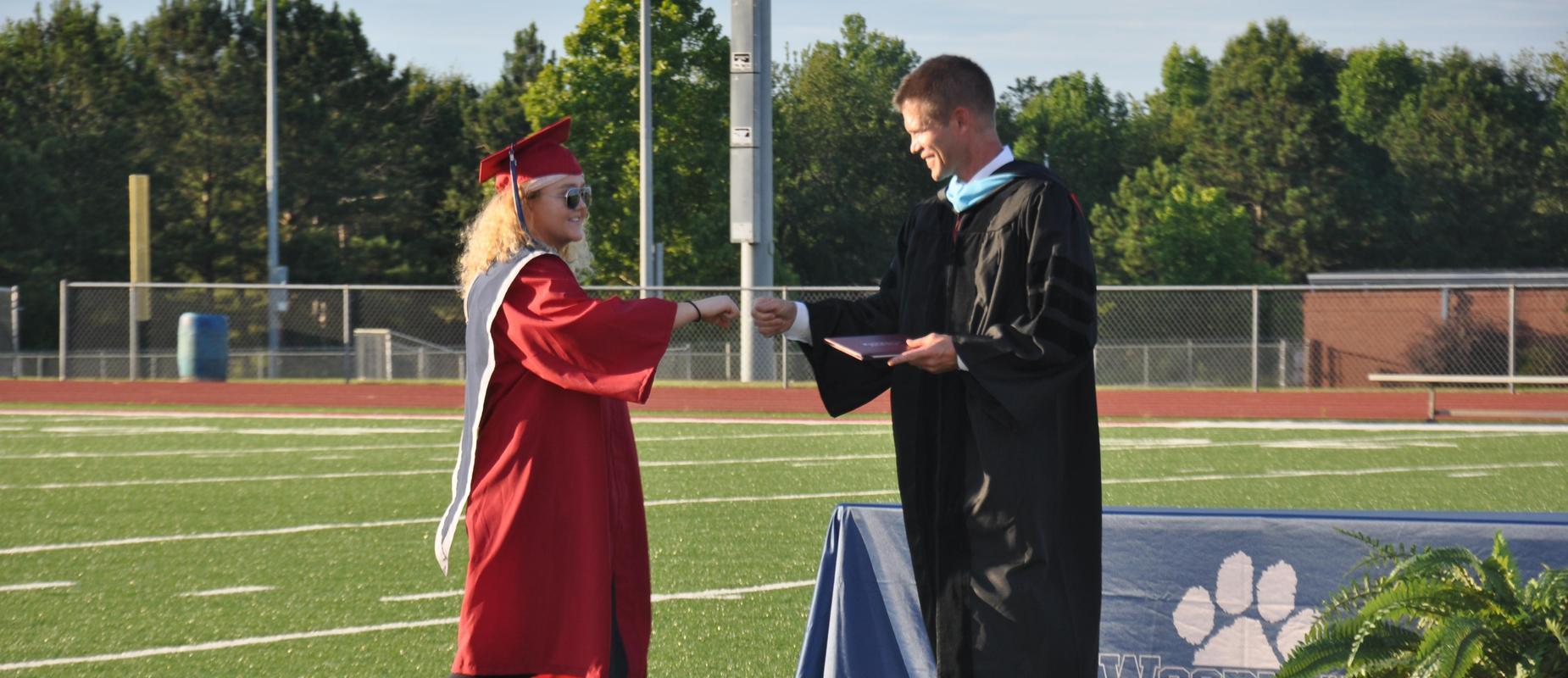 Military senior graduation