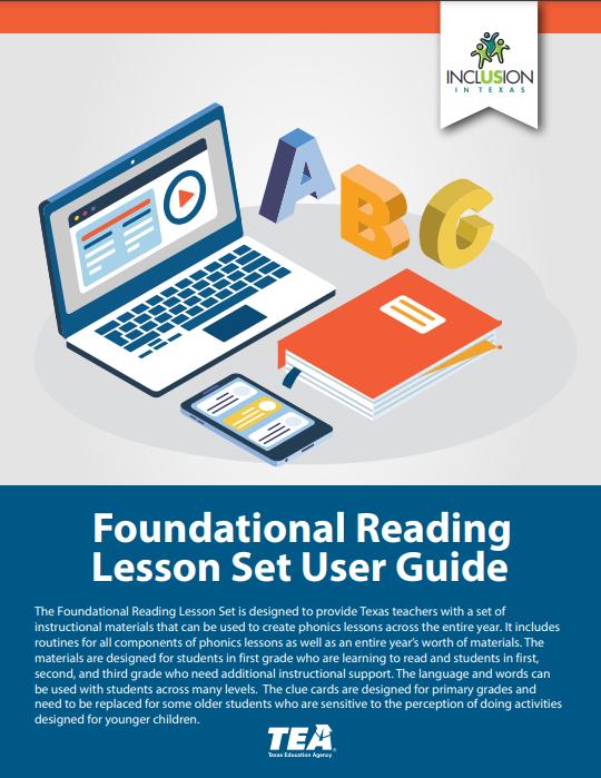 Foundational Reading Skills Lesson Set cover