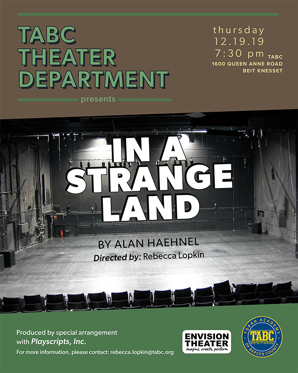TABC Theater Department Presents: In a Strange Land Thumbnail Image