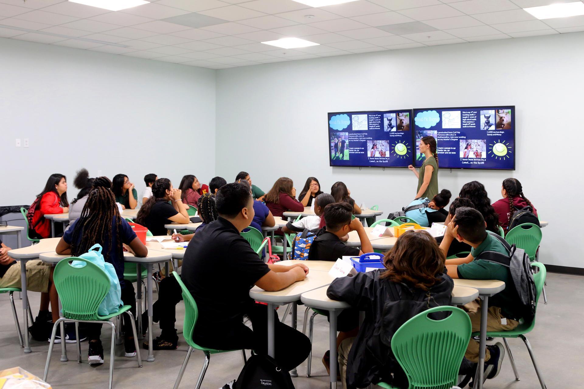 REAL Journey Academies scholars in classroom
