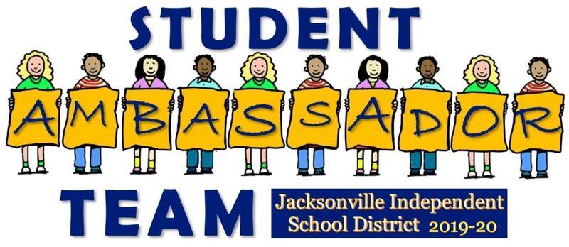 Logo for the student ambassador team