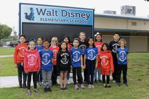 Walt Disney Students