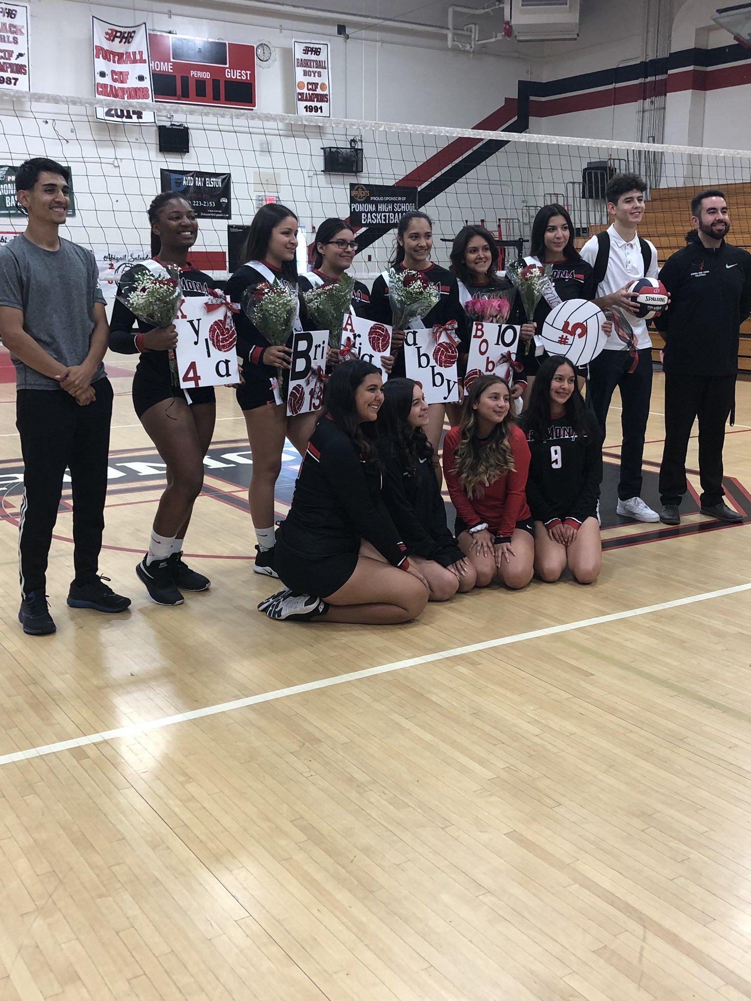 Congratulations to the Girls Volleyball team on your WIN! #Volleyball #proud2bepusd #PomonaHigh