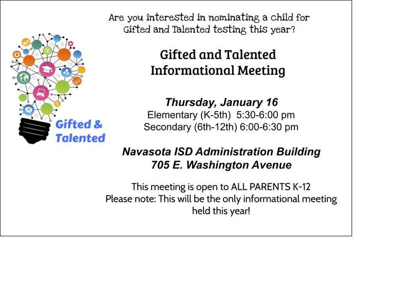 GT AWARENESS MEETING AND GT NOMINATION INFORMATION Featured Photo