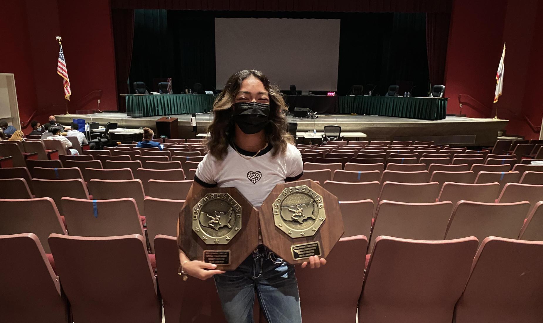 Paige Morales Dual Fargo Champion