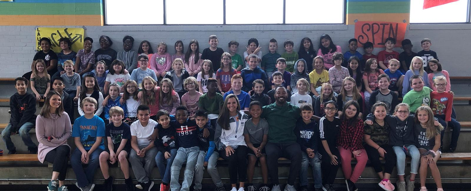 Wilemon students learn about junior high expectations