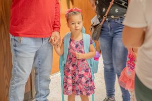 Child starting Kindergarten