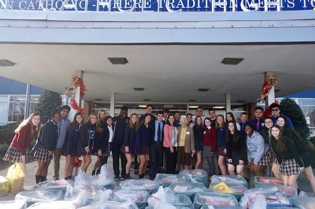 Union Catholic's Thanksgiving Food Drive latest example of commitment to social justice Thumbnail Image