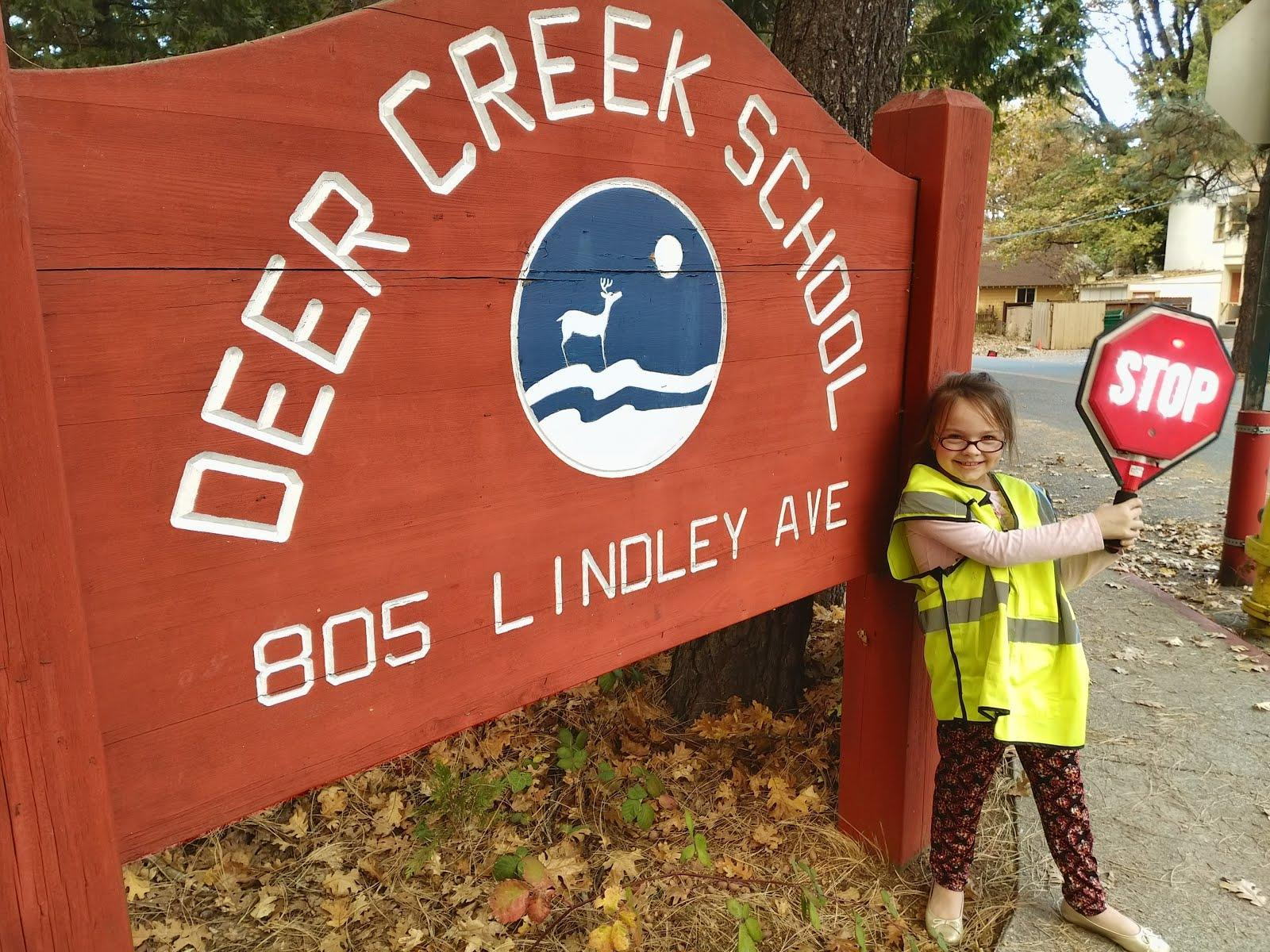 Deer Creek Student Crossing Guard