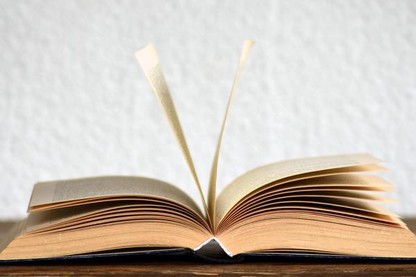 open book')