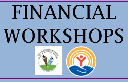 CANCELLED--Financial and Budgeting Workshops for families  March 19 & 21 Thumbnail Image