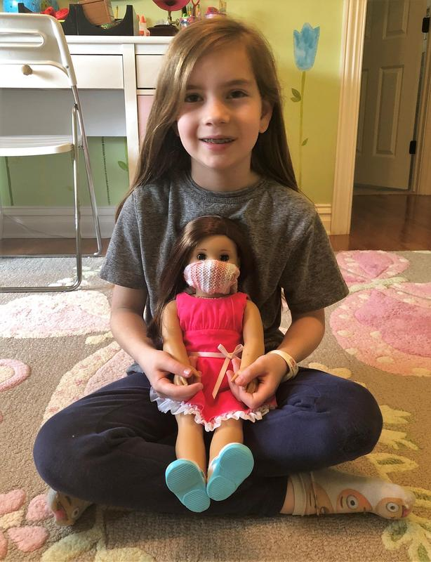Franklin School 2nd grader Alexandra Horvath wrote a letter to the American Girl Doll Company, proposing that the company model its next doll on a child who is living through a public health pandemic.
