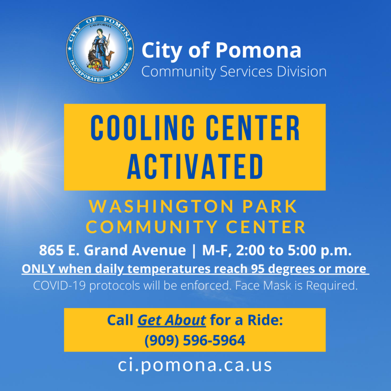 Cooling Center Activated Featured Photo