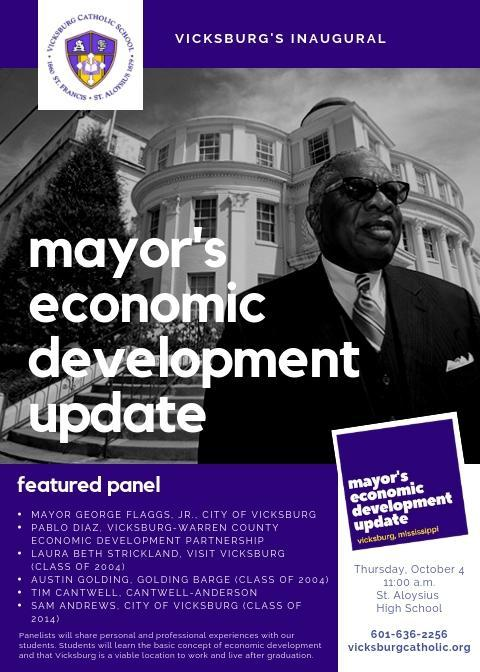 VCS Establishes First Mayor's Economic Development Update Thumbnail Image