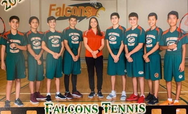 Falcon Tennis Team