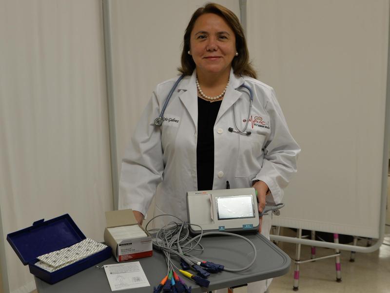 LFHS science teacher Griselda Galvez