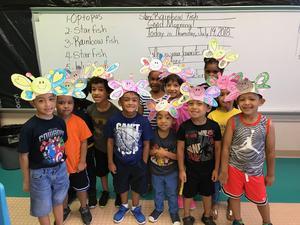 kids being butterflies